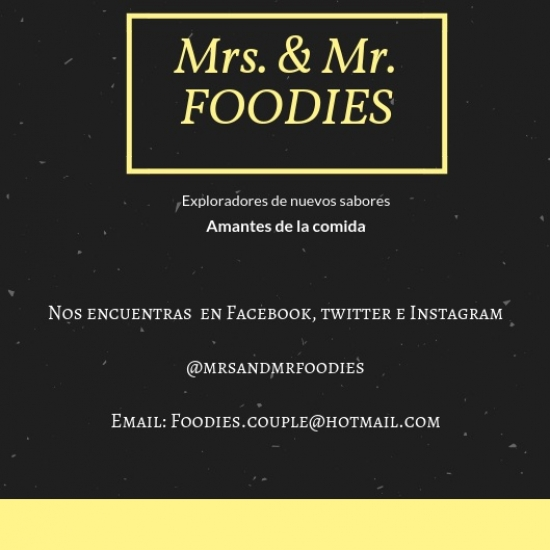 Mrs and Mr   Foodies (Mrs and Mr foodies)